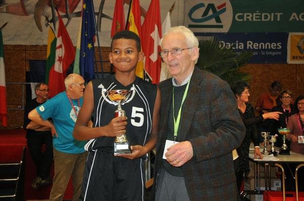Meilleur Espoir 2015 : Griffiths Mila (La Réunion - France)