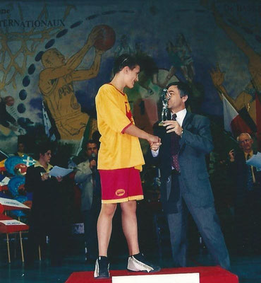 MVP 2002 : Julien Beaudoin (Liege - Belgique)