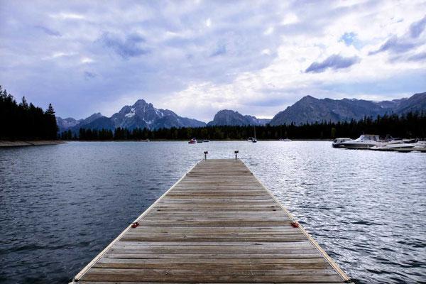 Colter Bay Marina am Jackson Lake, Grand Teton