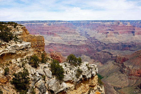 South Rim Trail Grand Canyon Wanderweg