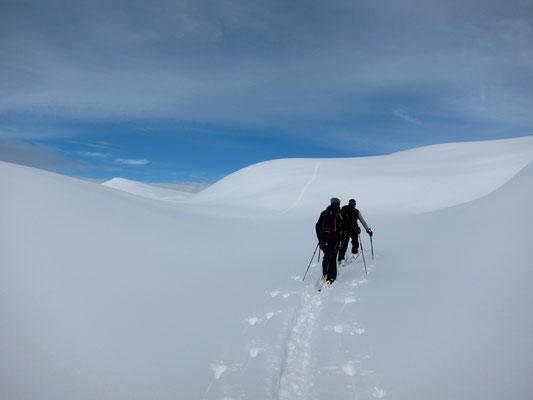 Skitouran ab Villgratental ins Pragsertal, Dolomiten