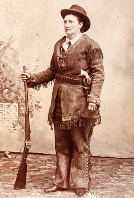 Calamity Jane by CE Finn 1880s Wikipedia