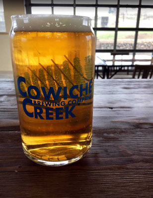 Gute Craft Bier aus dem Yakima Valley, Cowiche Creek Brewing