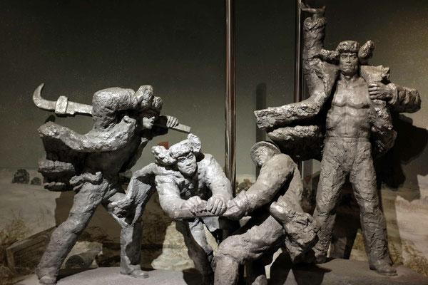 Revolutionsgeschichte im China National Museum Peking