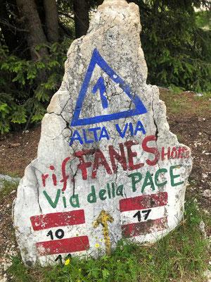 Fanes Hütte Dolomiten