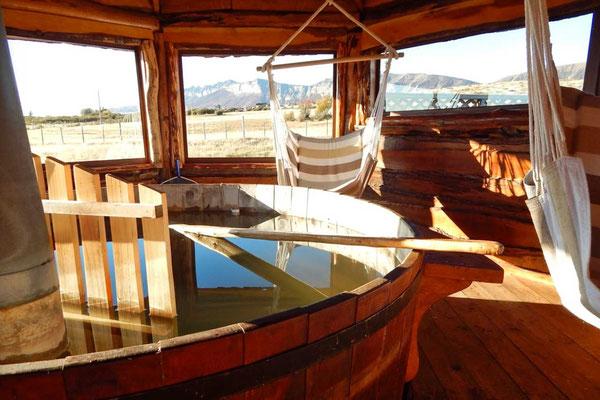 Hot Tub Cabañas Kauken, Puerto Natales