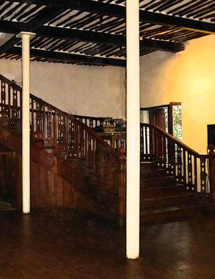 Kolonial-Architektur Bar-Restaurant 'Livingstones Beach'