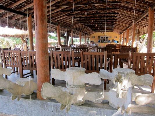 Beach Restaurant Nilaveli Beach Hotel, Sri Lanka