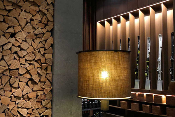 'Living Room' im Chedi Andermatt