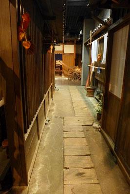 Gasse aus der Edo-Zeit, Shitamachi Museum Tokio Ueno Park