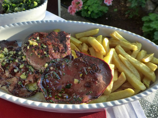 Lammleber vom Grill, Konoba Bukaleta Cres