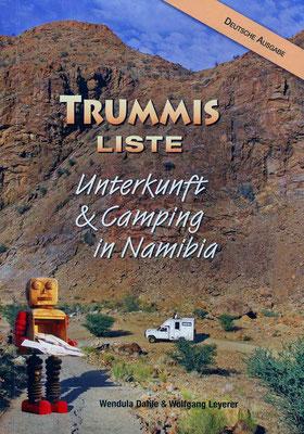 Liste Namibia Camping & Unterkünfte