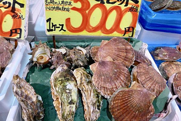 Seafood Heaven – Tore-tore Market Shirahama