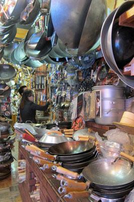 The Wok Shop, Grand Av. Chinatown San Francisco