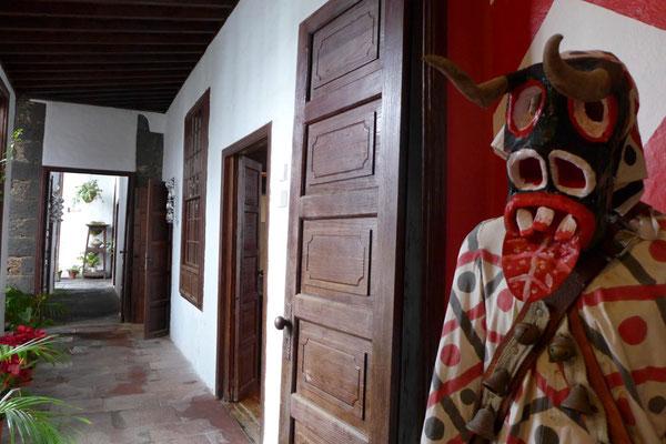 Im historischen Palacio Spinola, Museum Teguise
