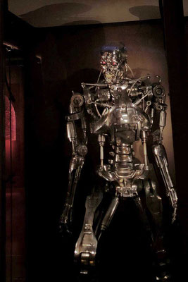 T-800 Terminator im Science Fiction and Fantasy Hall of Fame, MoPOP Seattle