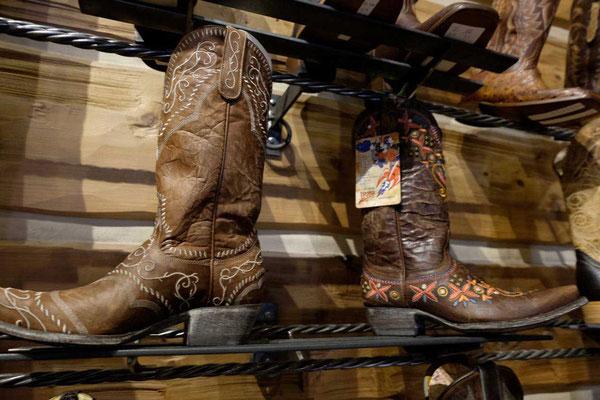 Cowboy Boots bei Hamley & Co Pendleton