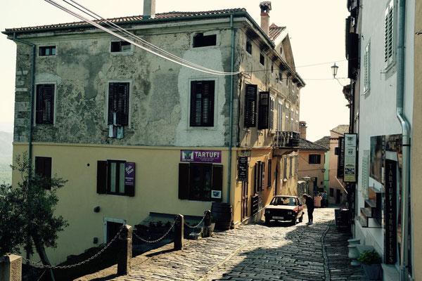 Motovun mittelalterliche Stadt