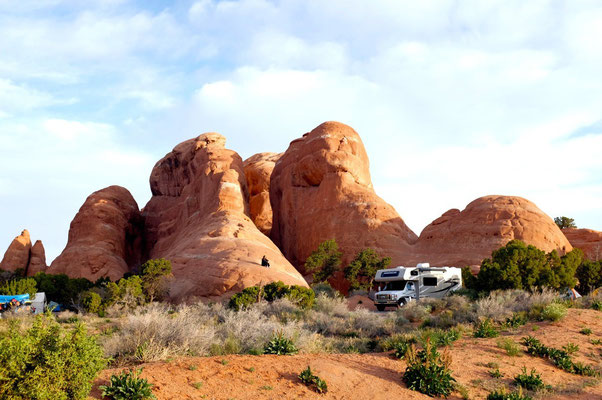 Devils Garden Campground, Arches National Park, USA Südwesten