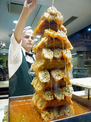 Istanbuls Süßigkeiten