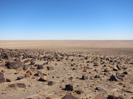 Geröllwüste der Namib Namibia