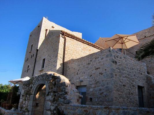 Wohnen im historischen Turmhaus in der Mani