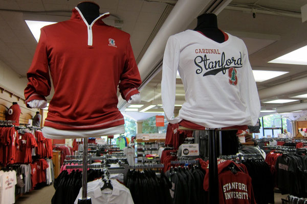 Stanford University Bookstore mit Sportswear