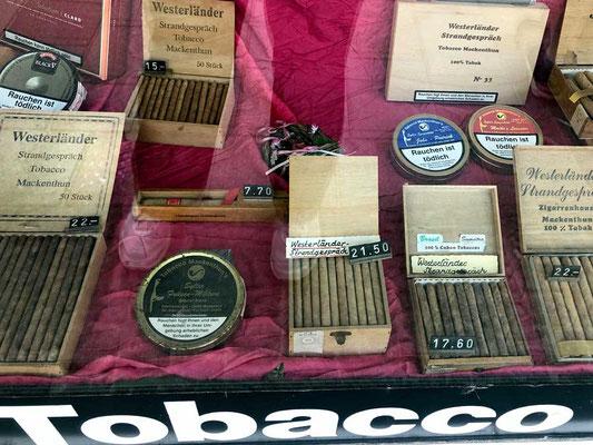 Westerländer Strandgespräch Tabakladen