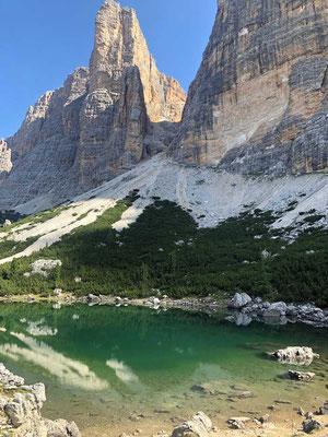 Lago di Lagazuoi Dolomiten-Höhenweg Nr 1
