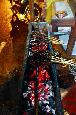 Grillspieße Streed Food Yogyakarta