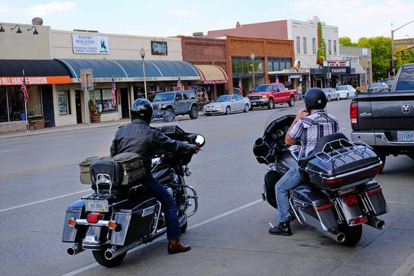Harleys Buffalo Bill City Cody Wyoming