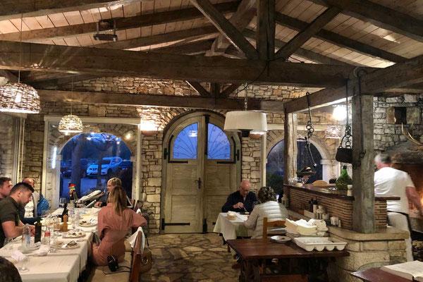 Restaurant Konoba Buscina Umag Istrien
