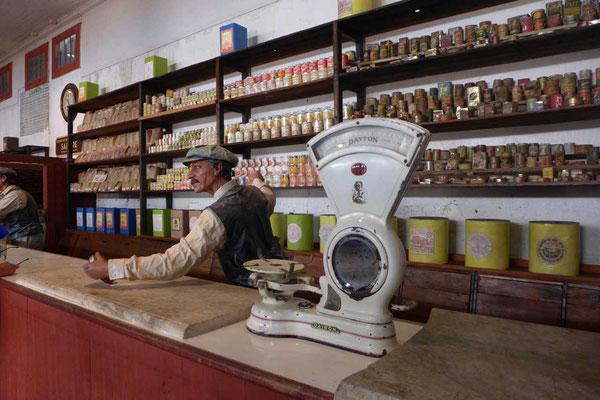 Geschäfte in der Geisterstadt Humberstone