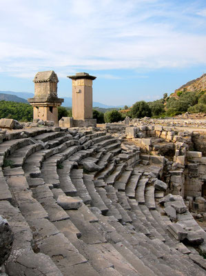 Xanthos Unesco Weltkulturerbe, Türkei Lykische Küste