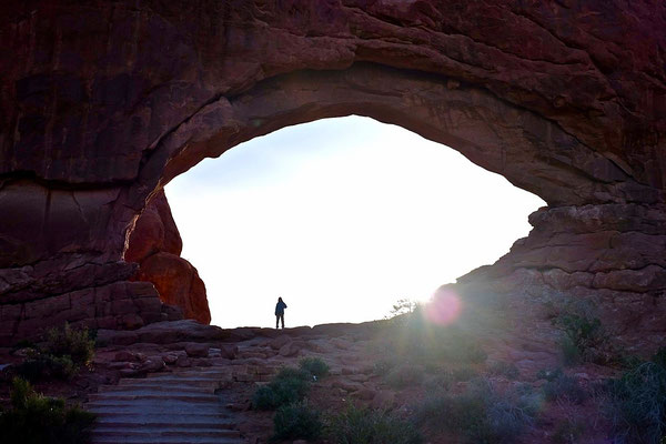 Im Auge der Windows Section, Arches National Park
