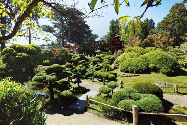 Japanese Tea Garden, San Francisco Travel Association photo