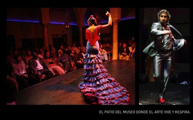 Flamenco Show im Patio Sevilla