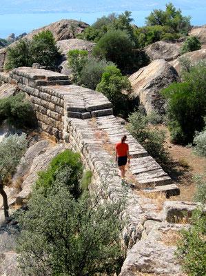 Antike Stadtmauer Herakleia, Wandern an der Lykischen Küste Türkei