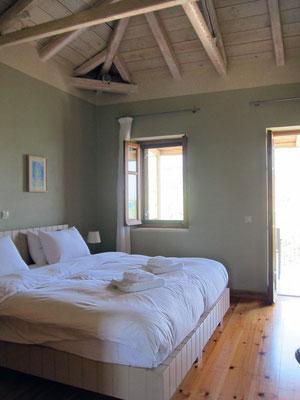 Schlafzimmer Maisonette-Wohnung,  Hotel Elies, Kardamili, Mani Peloponnes