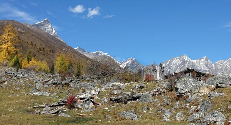 Erinnert etwas an unsere Alpenlandschaft, Shuangqiao Valley