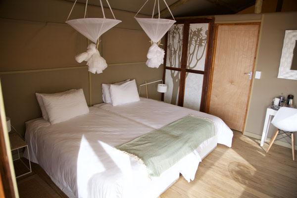 Schöne Zimmer im Kanaan Desert Retreat
