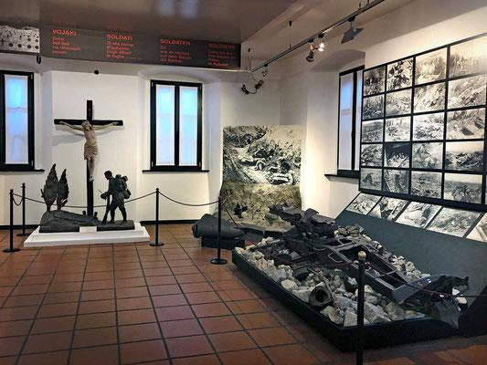 Kobarid Museum zur Insonzoschlacht