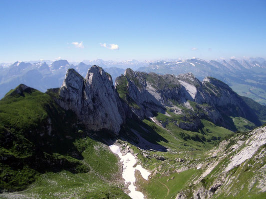 Wanderung Bollenwees zur Meglisalp, Appenzell