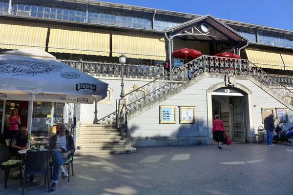 Jugendstil-Markthalle von Pula