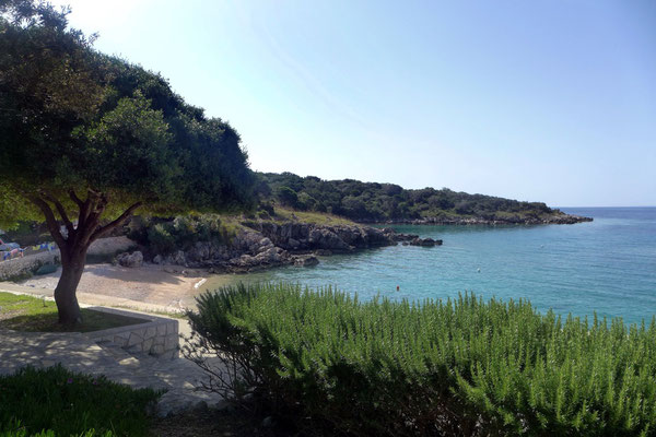 Rosmarinduft und Meeresluft, Camping in Lun / Pag