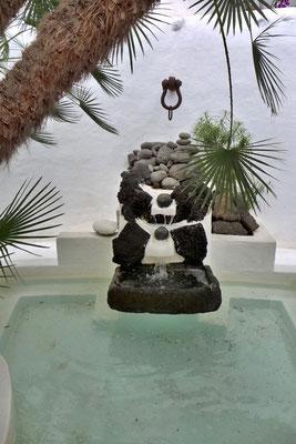 Wasserspiele der Villa LagOmar Lanzarote