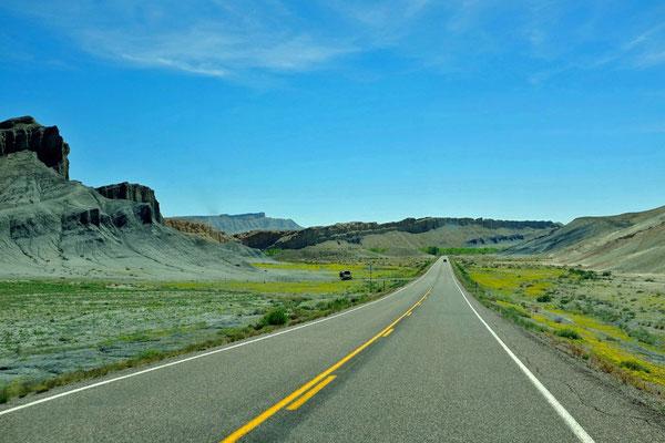 Scenic Byway – Durch die Badlands an der State Route 24