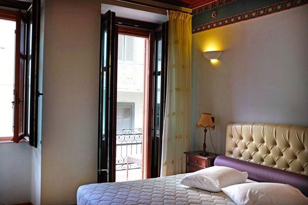 Unser Zimmer im Hotel Kyveli Suites, Nafplion, Peloponnes