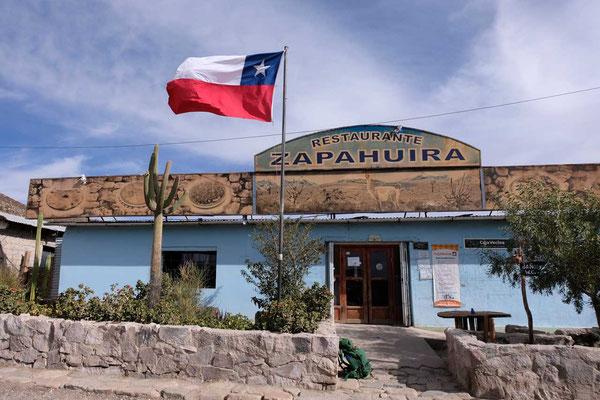 Zapahuira Restaurant Ruta 11 Chile