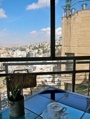 Wild Jordan Cafe, Amman Jordanien